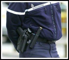 Gendarmes hiver