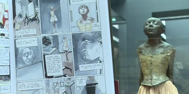 """La BD """"Les disparues d'Orsay"""" invite à un jeu de piste poétique au Musée"""