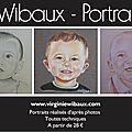 V. wibaux - portraits