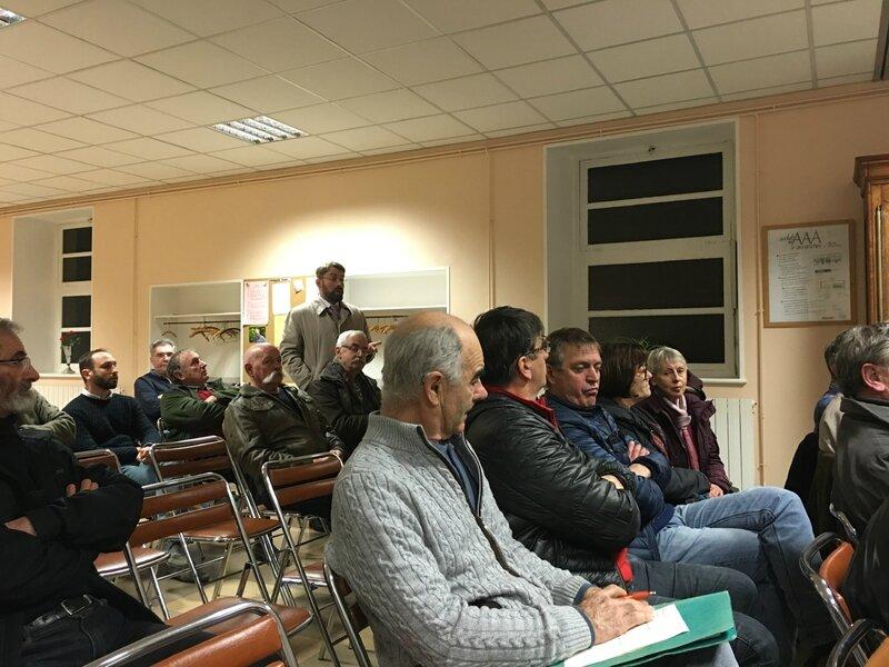 AG Vélocité Avranches 13 janvier 2016 public