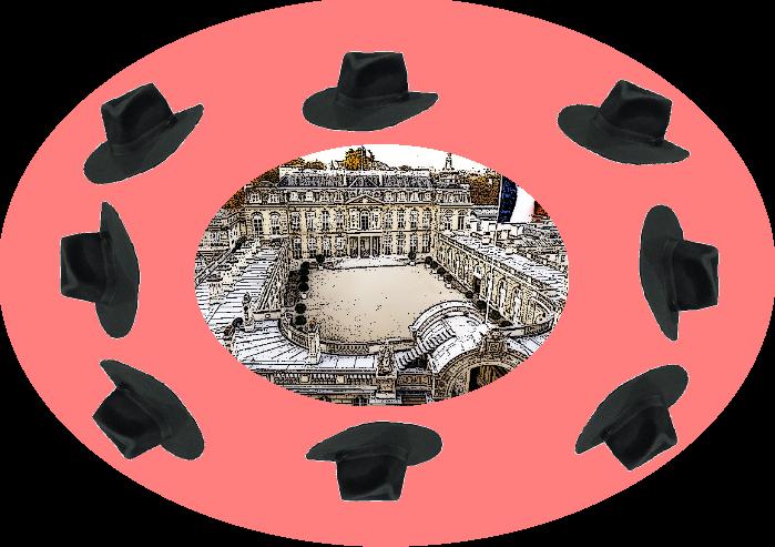 ronde de chapeaux 3