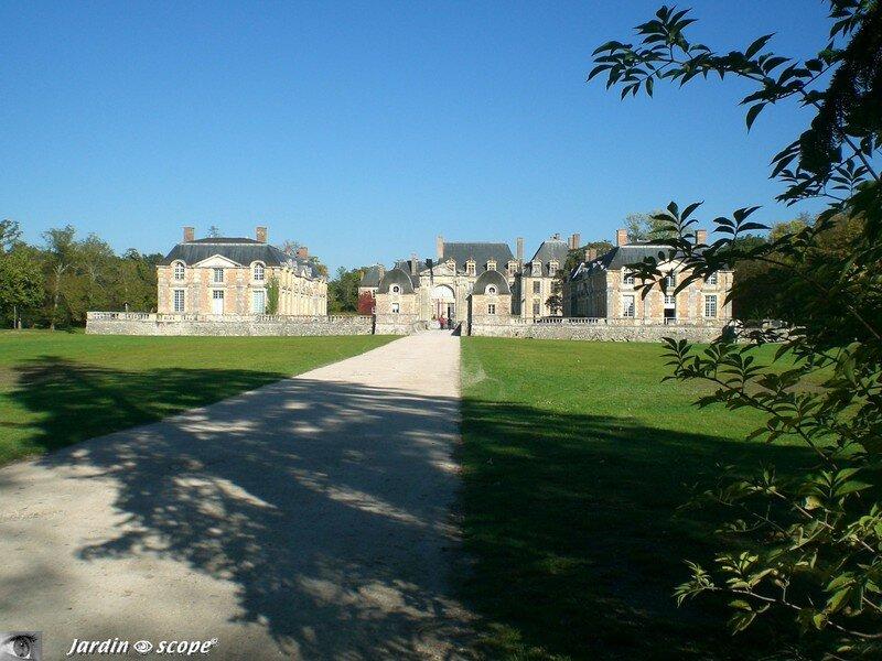 Le Château de La Ferté-Saint-Aubin (45)