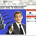 Sarkozy découvre le bon coin