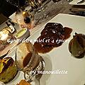 Canard au miel et 4 épices