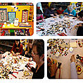 les réalisations des ateliers créatifs