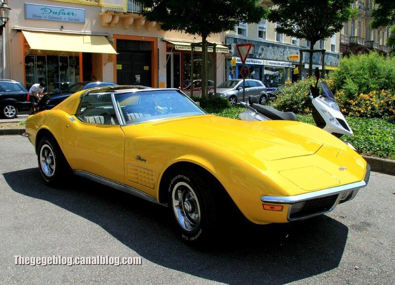 Chevrolet corvette stingray (37ème Internationales Oldtimer Meeting de Baden-Baden) 01