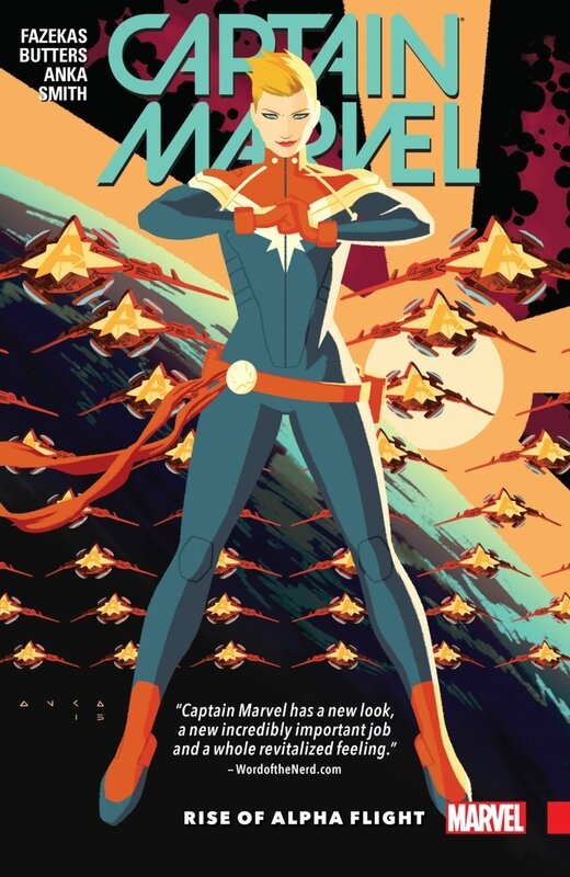 captain marvel vol 1 rise of alpha flight TP
