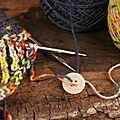 Astuce 1 : tricoter avec 2 pelotes