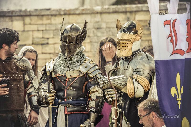 le combat des légendes - chevaliers table ronde