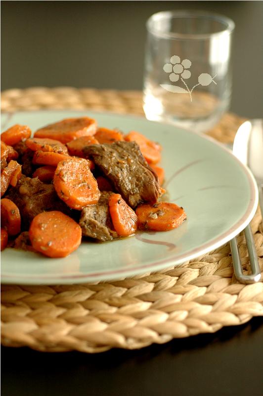 Boeuf-carottes aux épices