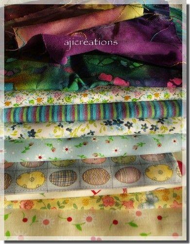 Imprimés, tissus patchwork