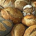 Commandes de pains