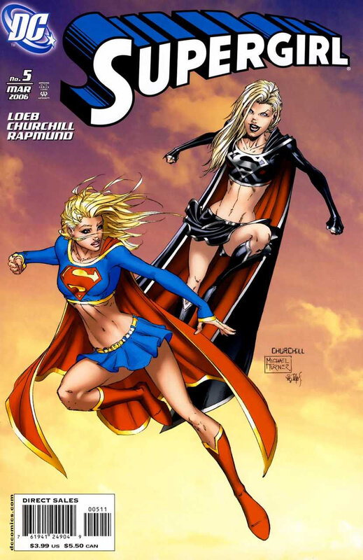 supergirl 2005 05 turner churchill cover