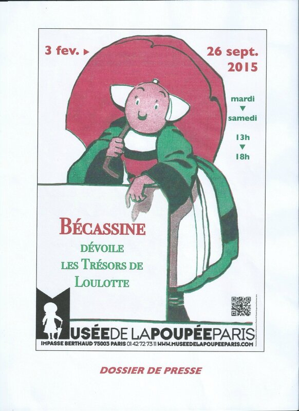 dossier presse BECASSINE
