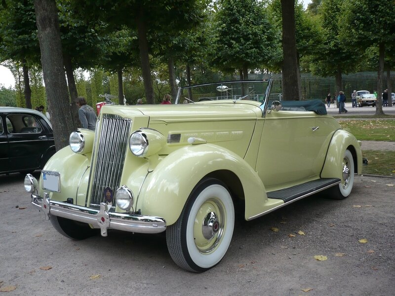 PACKARD Model 120 coupé cabriolet 1936 Schwetzingen (1)