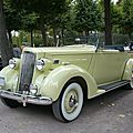 Packard model 120 coupé cabriolet 1936