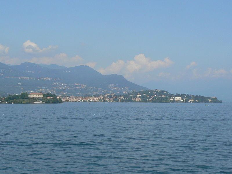 stresa petite ville magnifique du Lac Majeur..