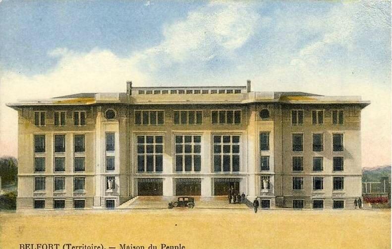 CPA Belfort Maison du Peuple
