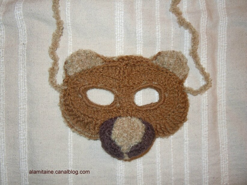 masque ours01