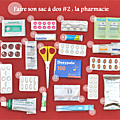Faire son sac à dos # 2 : la pharmacie