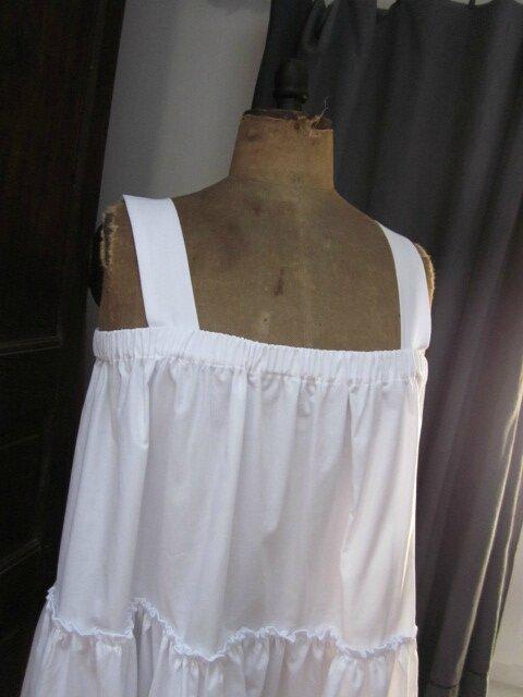 Jupon CLEMENTINE en coton blanc (5)