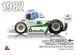 WILLIAMS RACE DAY BRAZIL KEKE FW8