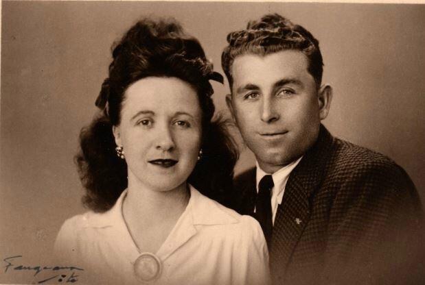 Yvonne Quefelec et Maurice Roustan