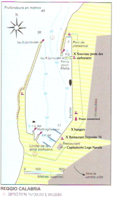 Reggio di Calabria le nouveau port