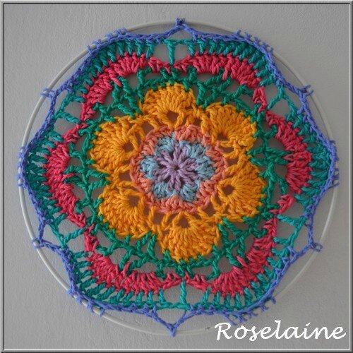 Roselaine mandala arceau 2