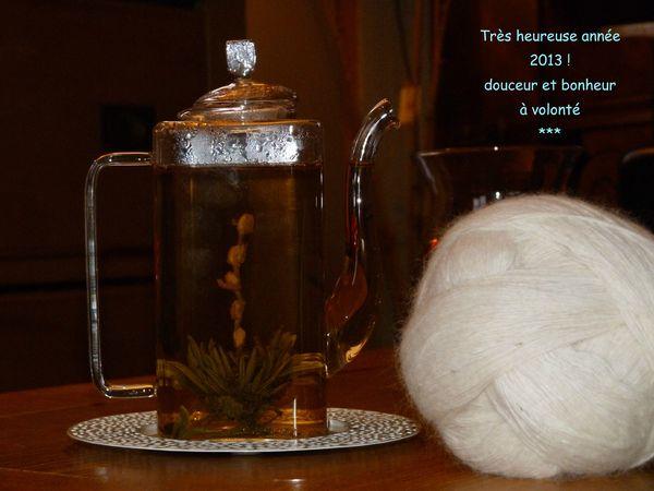 voeux thé 2013