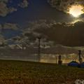 Grain silo hill (canon eos 7d hdr)