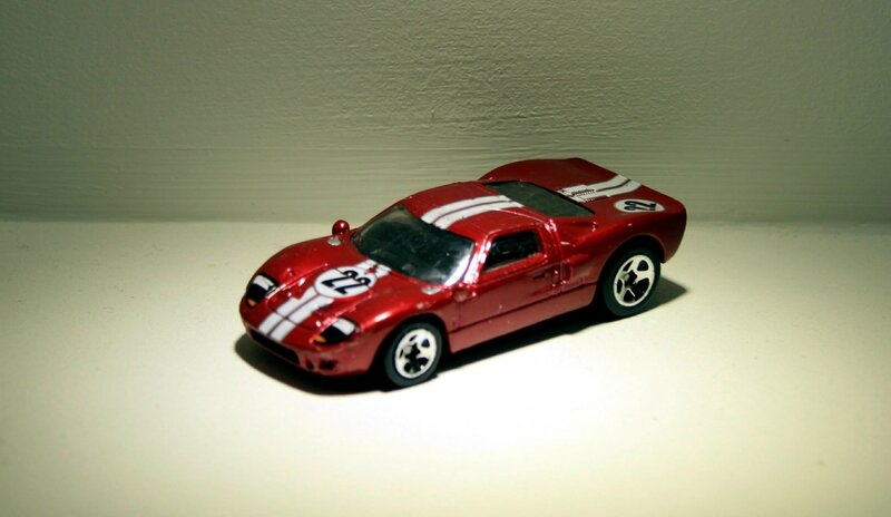 Ford GT40 (2007)(Hotwheels)