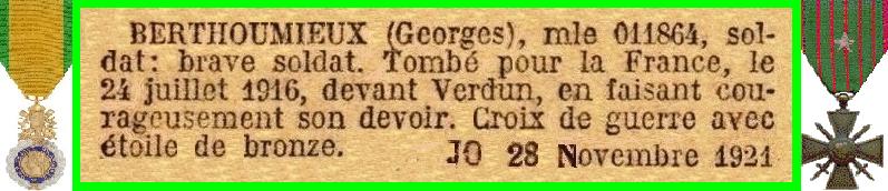 BERTHOUMIEUX G