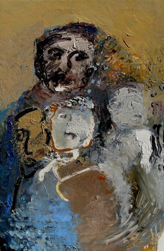 le marionnettiste (120x80cm)