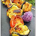Marinade pour brochettes de poulet au bbq (besave)
