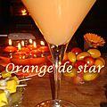 Orange de star
