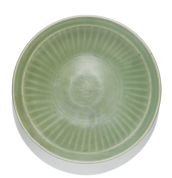 A 'Longquan' celadon dish, Ming dynasty