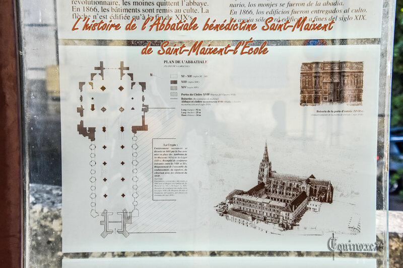 L'histoire de l'Abbatiale bénédictine Saint-Maixent de Saint-Maixent-l'École (2)