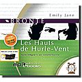 Les hauts de hurlevent, l'audio book
