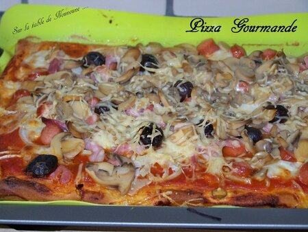pizza gourmande 1
