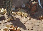 Secteur des vendeurs de calebasses Quais de MOPTI Mali