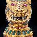 Bonhams to sell recent discovery of gem-set gold gem from the fabled throne of tipu sultan, the tiger of mysore