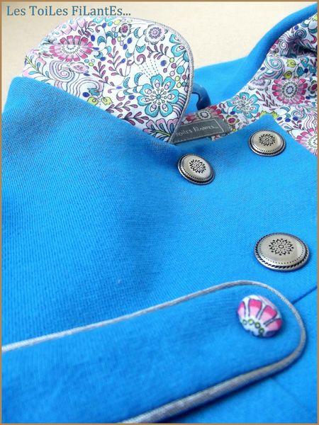 Vesta Agatha bleu de Cobalt9