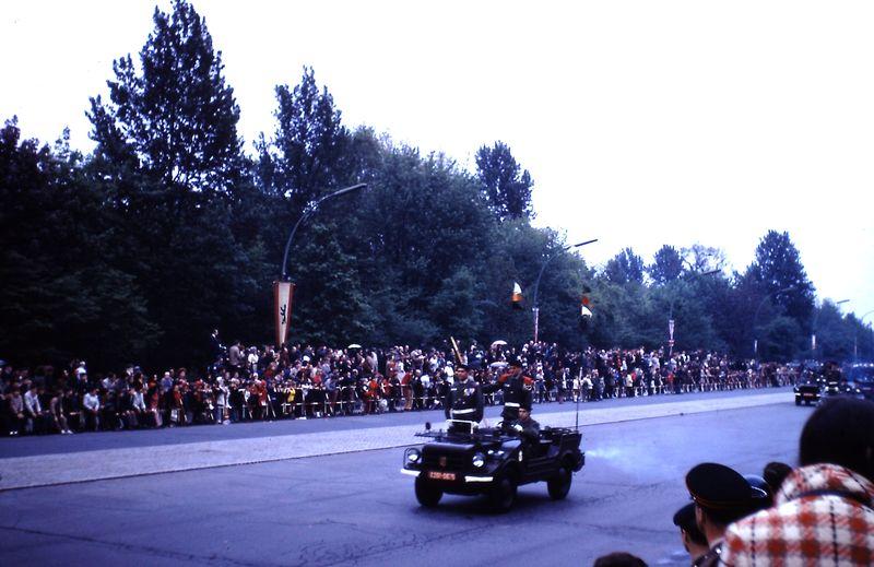 061 Défil-Inter-Alliés Berlin 13-05-1972 FR. CCA 46° Régiment D'Infanterie