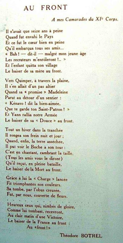 Chant Borel 1915