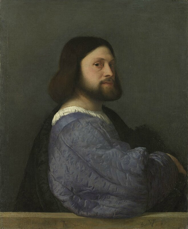 Titian, 'Portrait of Gerolamo () Barbarigo', about 1510