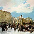 Guiaud, siège de Paris, boulevard Montpartnasse, janvier 1871