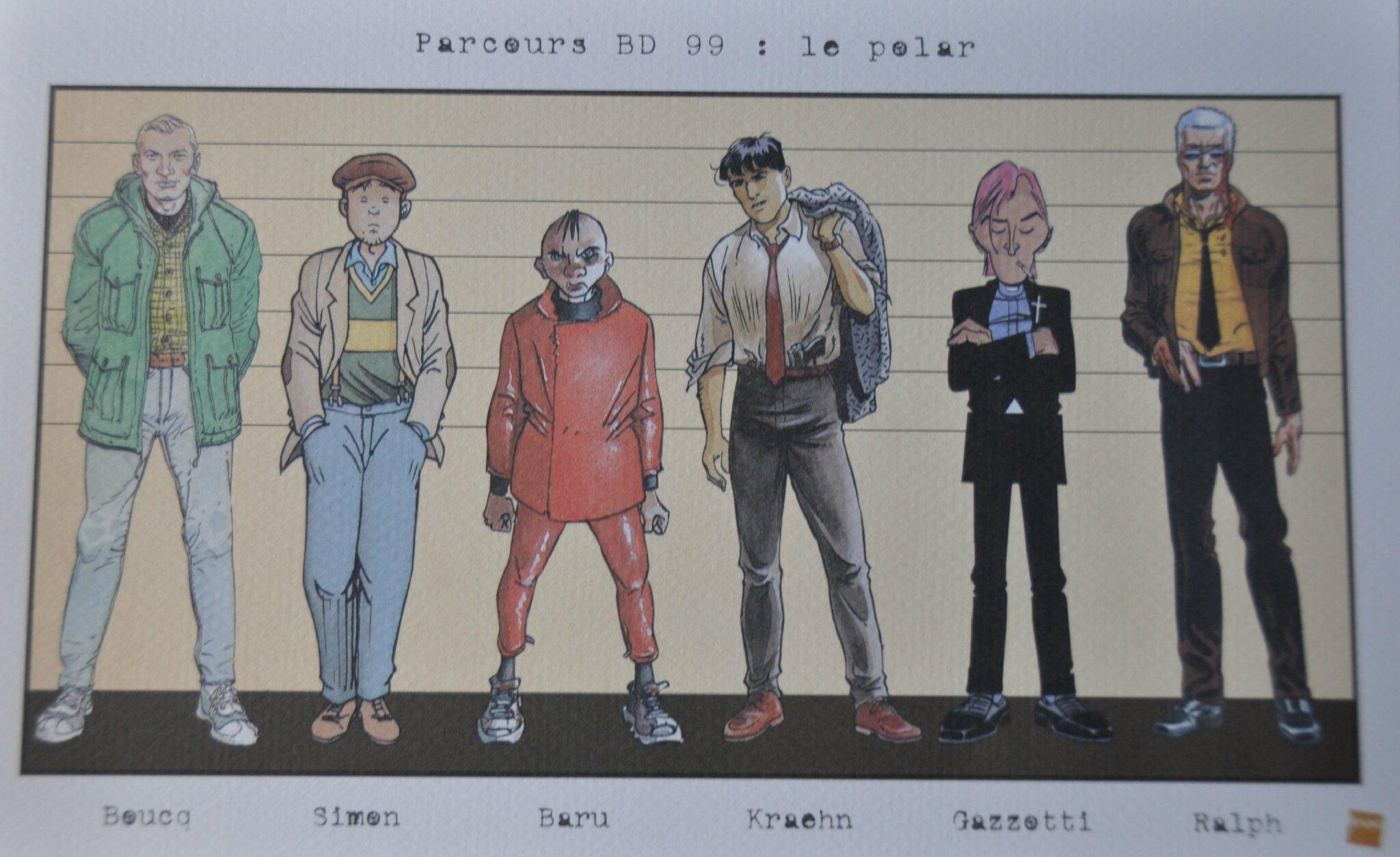 Ex-libris Le polar