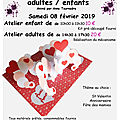 Animations -cours-expositions