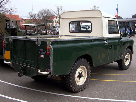Land Rover 109 pickup Bourse Echanges Auto Moto de Chatenois 2009 2